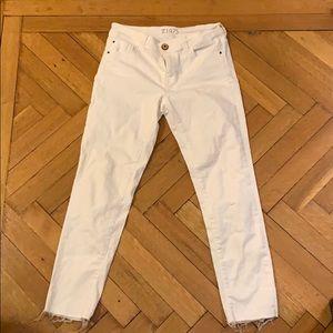 Zara White Jeans